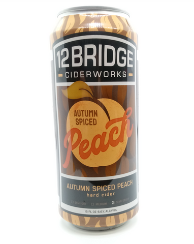 12 Bridge Autumn Peach Smash - The Cider Barrel
