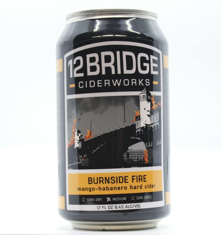 12 Bridges Burnside Fire - The Cider Barrel