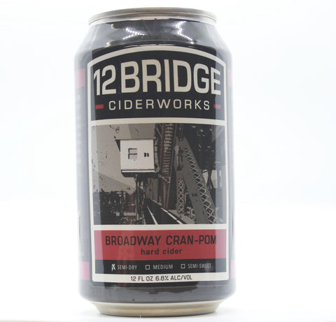 12 Bridges Ciderworks Can Pom - The Cider Barrel