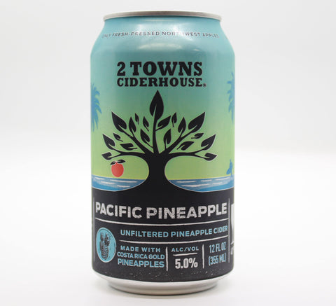 2 Towns Pacific Pineapple - The Cider Barrel