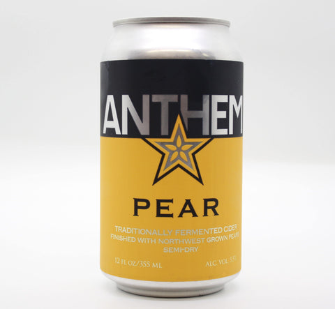 Anthem Pear - The Cider Barrel