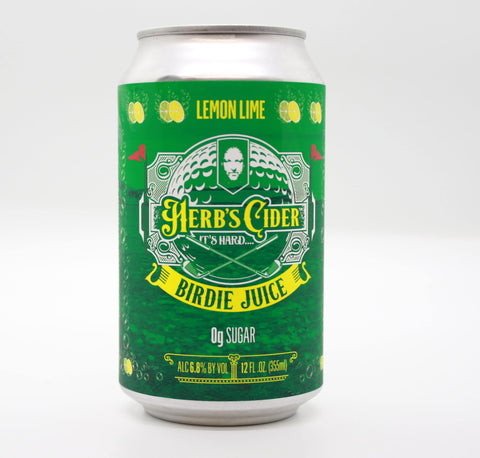 Herbs Cider Birdie Juice - The Cider Barrel