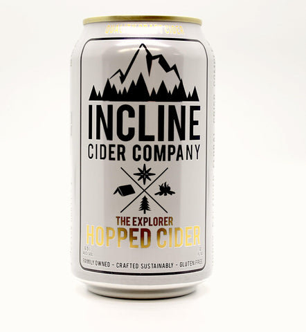 Incline Hopped Cider - The Cider Barrel