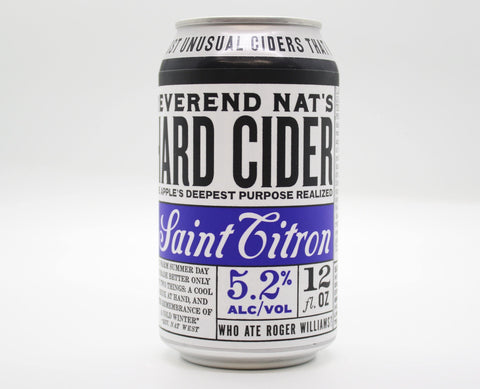 Reverend Nats Saint Citron - The Cider Barrel