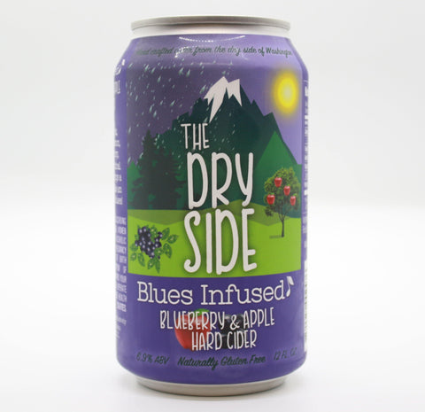 Tieton The Dry Side Blues Infused - 12oz cans (6.9% ABV) - The Cider Barrel