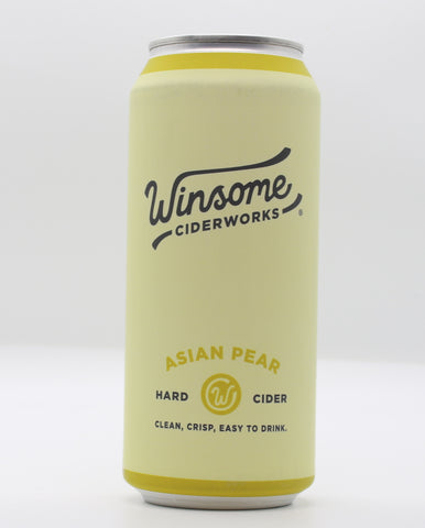 Winsome Asian Pear - The Cider Barrel