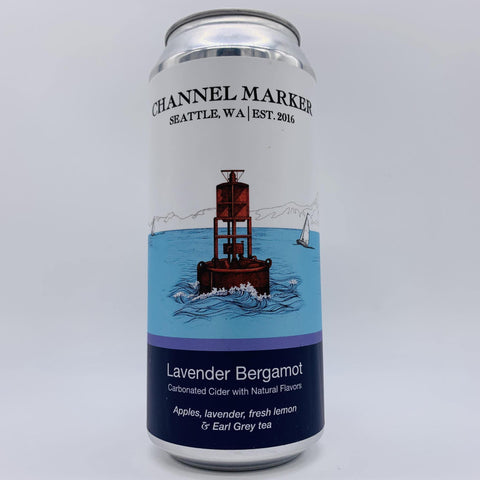 Channel Marker Lavender Bergamot - The Cider Barrel