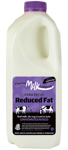 Milk Fleurieu Farm Fresh Reduced Fat Unhomogenised