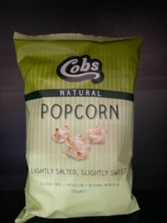 Popcorn Lightly Salted, Lightly Sweet Flavoured