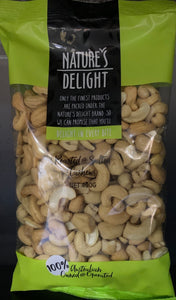 Nuts Cashews Roasted and Salted