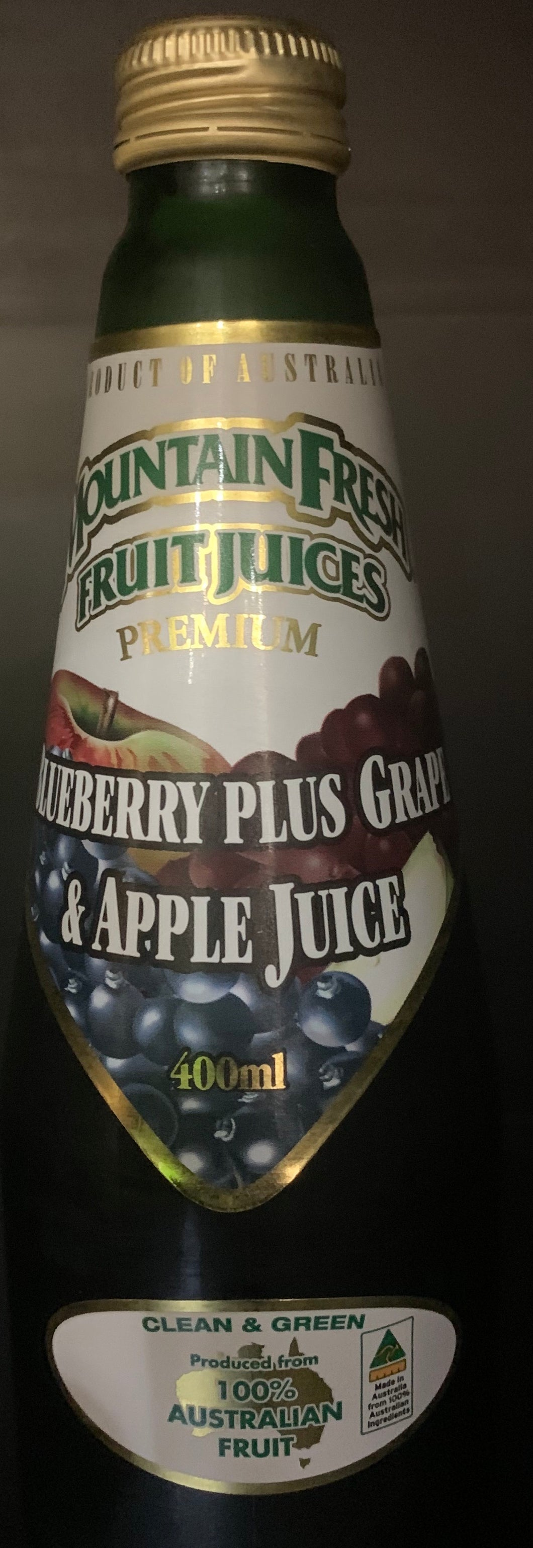 Juice Blueberry Apple Grape 400ml