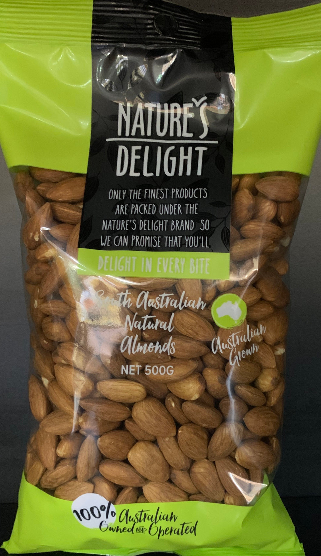 Nuts Almonds Natural
