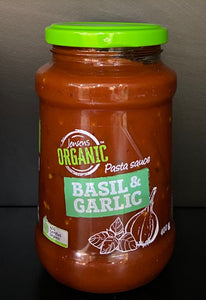 Pasta Sauce Basil and Garlic