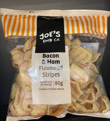Snacks Bacon and Ham flavored stripes