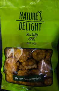 Nuts BBQ Rice Puffs