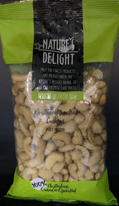 Nuts Cashews Roasted and Unsalted