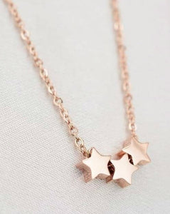 Julia Star Necklace - Rose Gold - Indigo Moon Jewellery