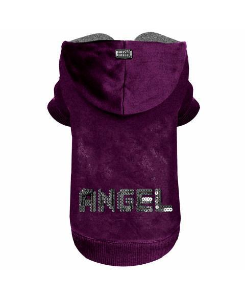 Angel Pullover Lila Samt - Milk & Pepper