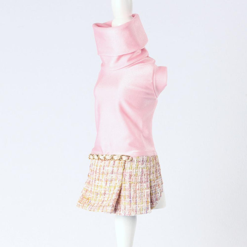 Channel Candy Kleid Rosa - Inamorada