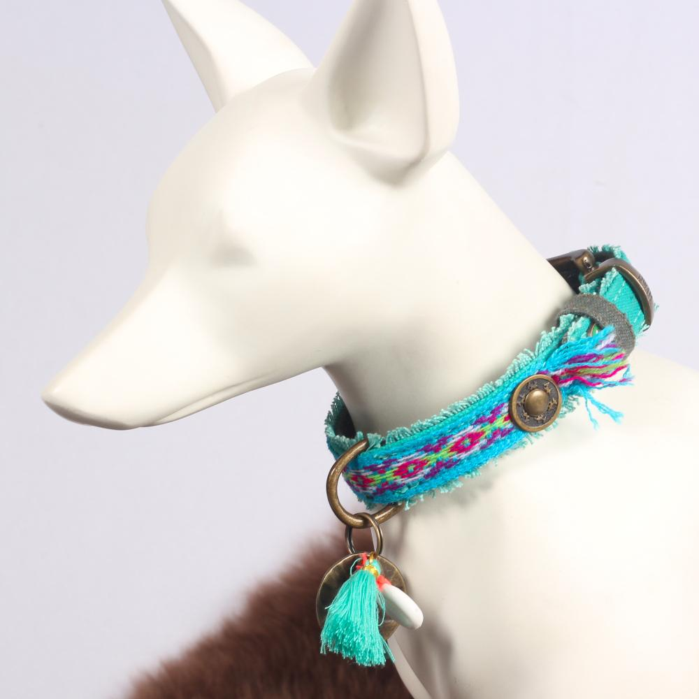 Peruvian Festival Halsband Finn - Dog With a Mission