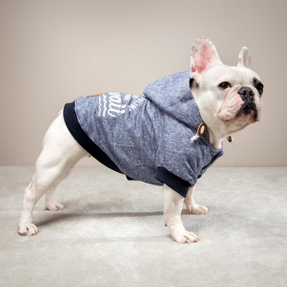 Pipeline Pullover Blau - Milk & Pepper