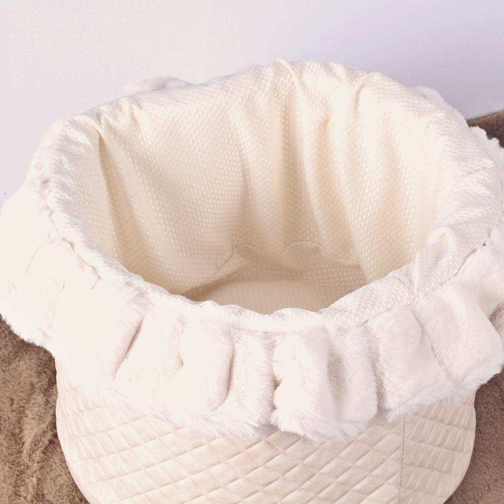 Soft Toy Box in Creme - Eh Gia