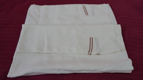 Kerala Handloom Chutti Thorth (Handloom Cotton Bath Towels) -  Pack of 2 -  Buy Online