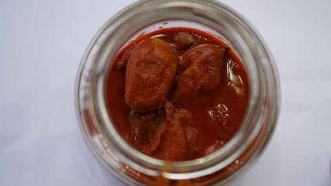Homemade Tender Mango Pickle (Kanni Manga Achar)  Buy online