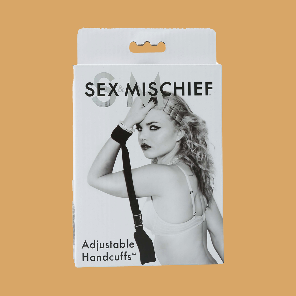 Adjustable Handcuffs Packaging SportSheets