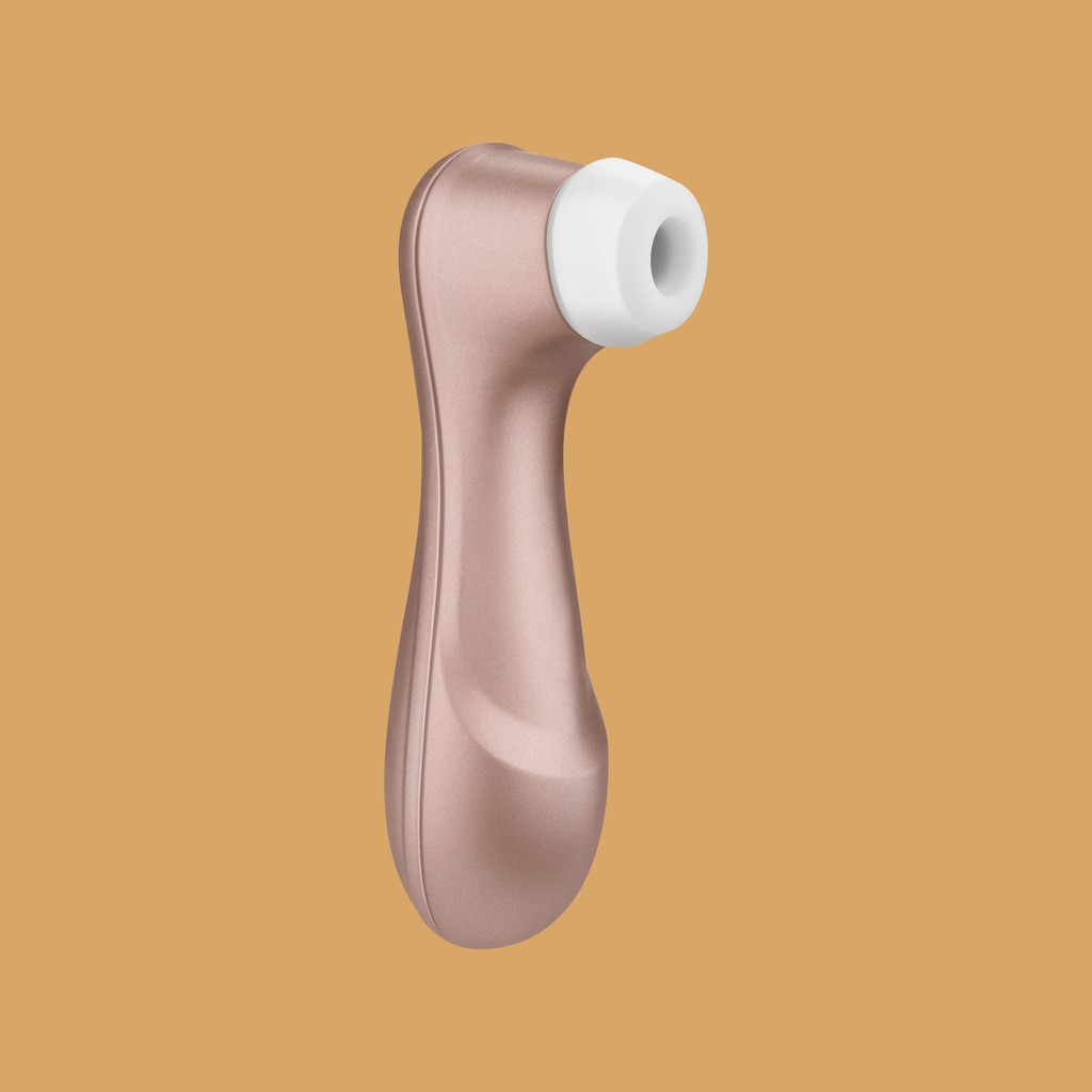Image of Satisfyer Pro 2 Clitoral Vibrator - Colour - Rose Gold