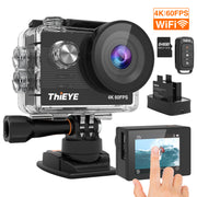 4K 60FPS Action Camera T5 Pro