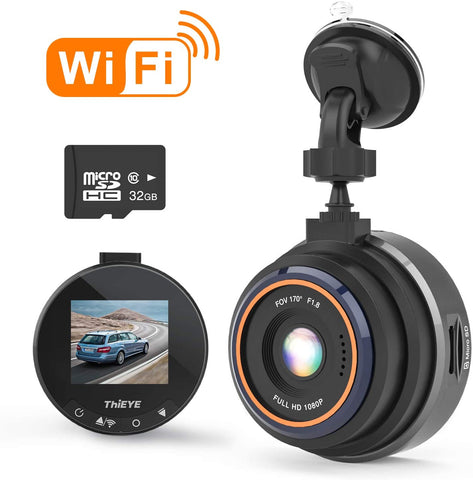 1080P Full HD WiFi Dash Camera Safeel Zero+