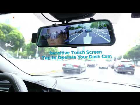Dual Lens 2.5K Mirror Dash Camera CarView 3