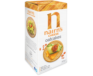 Nairns Gluten Free Cheese Oat Cakes