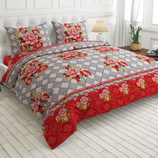 Redcarpet 4 pcs king comforter set 4471