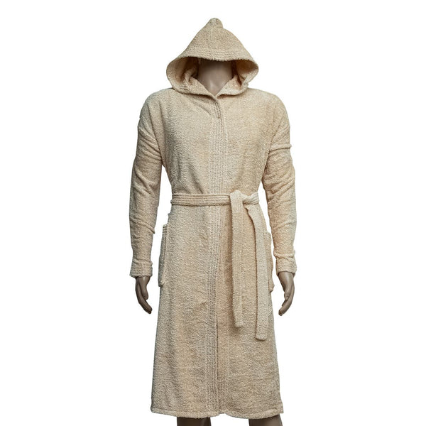 REDCARPET LA'MARVEL BATHROBE (HOODED) FAWN