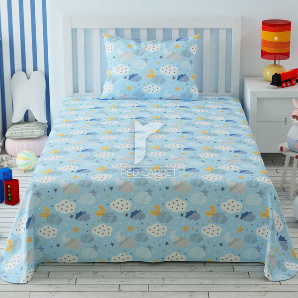 Redcarpet kid's 2 pcs single bedsheet 5504