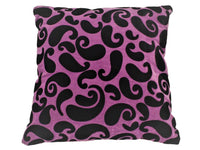 PAISLEY CUSHION PURPLE