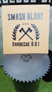 The Smash Blade (545mm) hot plate by Barbecue B.O.I.