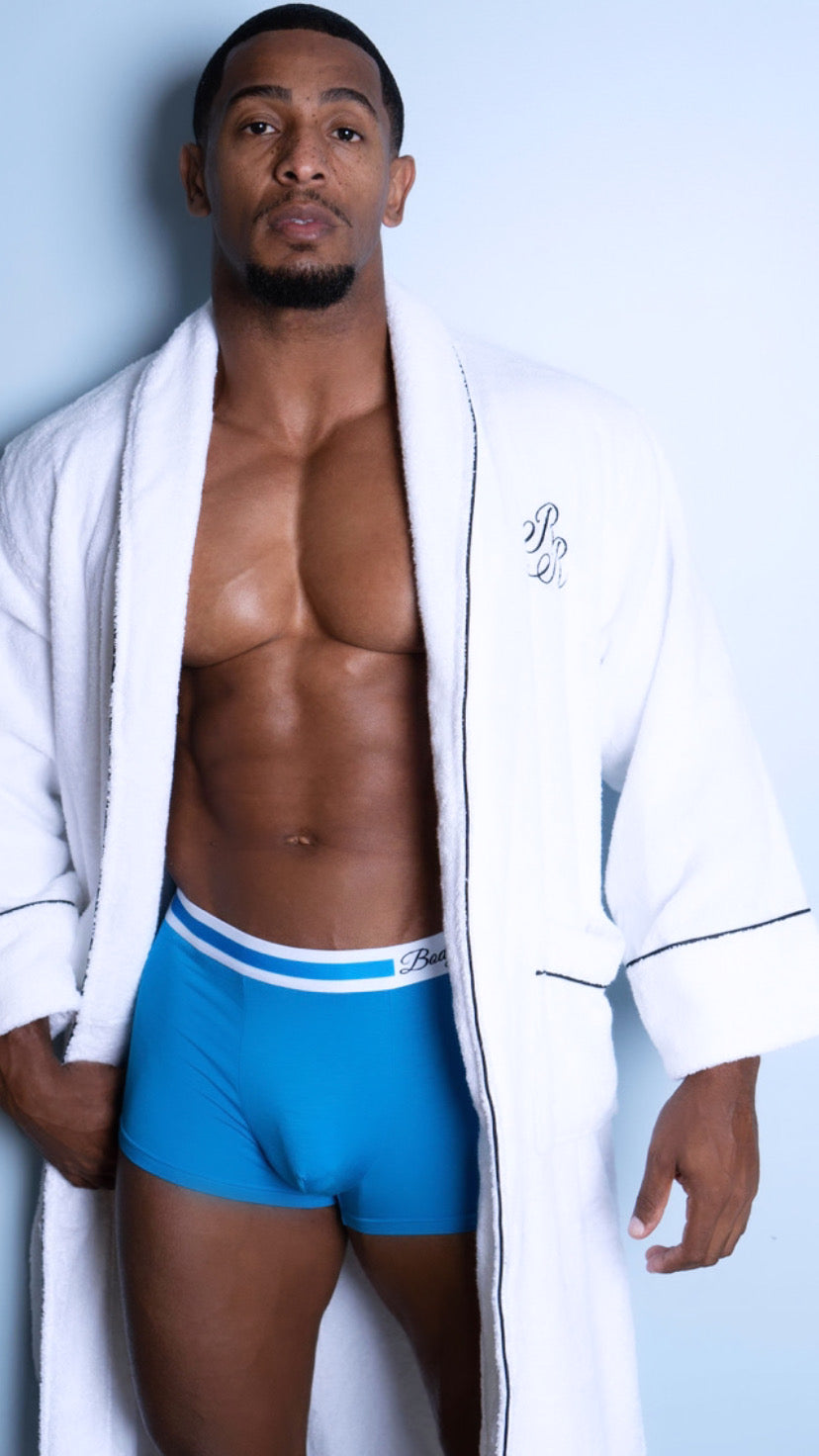 "Signature Blue ""Body By RR"" Boxer Brief"