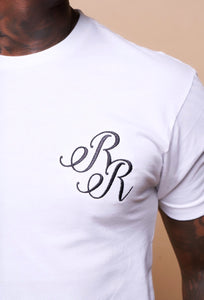 "Short Sleeve Embroidered ""RR"" Tee"