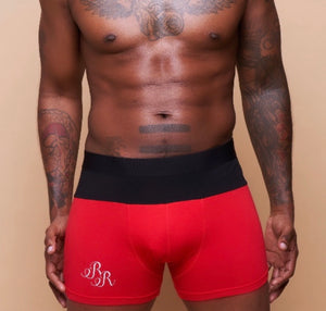 "Two-Toned ""RR"" Boxer Brief"