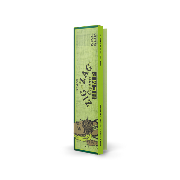 King Slim Organic Hemp Papers