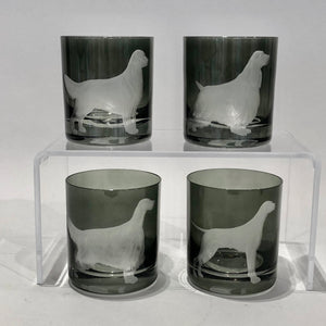 Artel Double Old Fashioned Dog Glasses - Set of Four