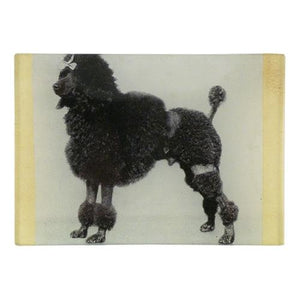 John Derian Black Poodle Mini-Tray