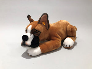 Collector's Edition Steiff and AKC Boxer Stuffed Animal
