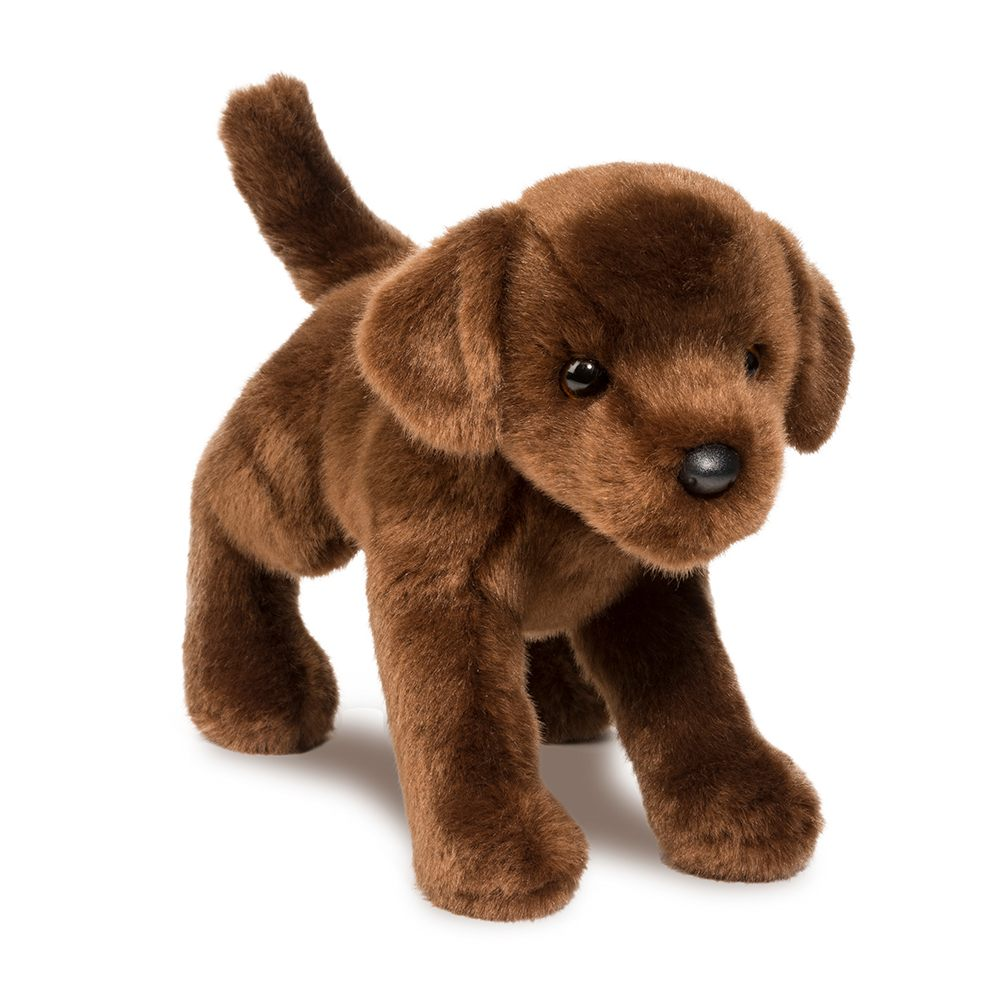 Chocolate Labrador Retriever Stuffed Animal