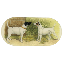 Load image into Gallery viewer, John Derian Fox Terrier Oblong Tray
