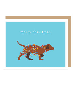 Labrador in Lights Holiday Cards - Box of 10