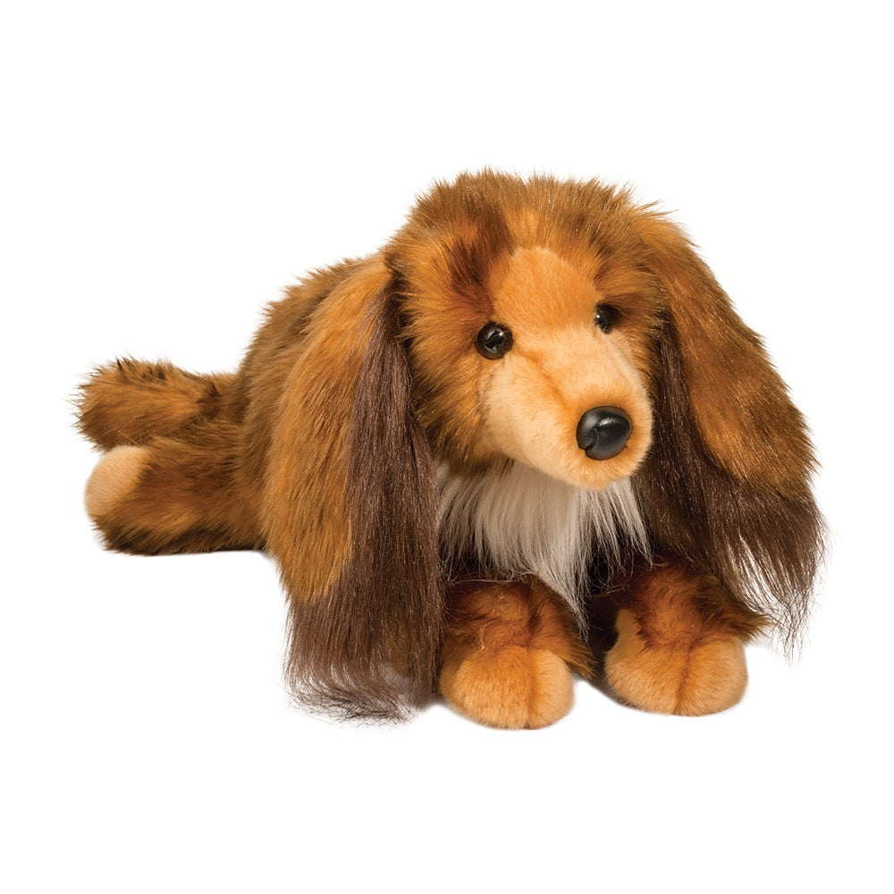 Long Haired Dachshund Stuffed Animal